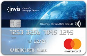 Invis Travel Rewards Gold MasterCard